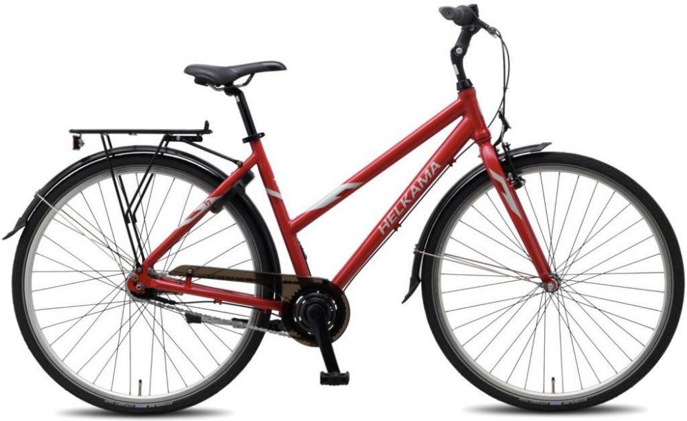 punainen kaupunkipyörä