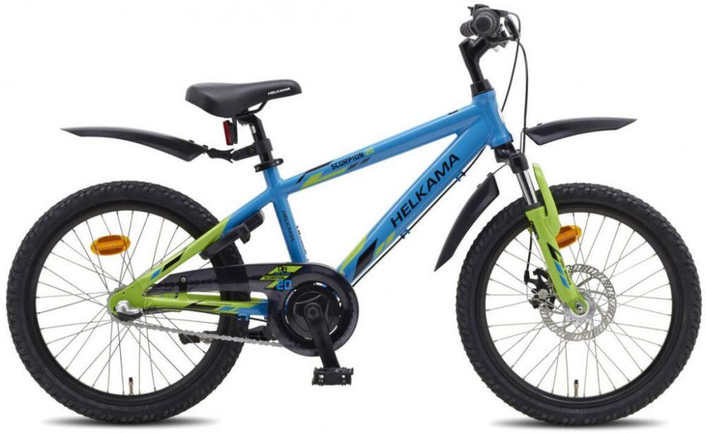 sininen lasten pyörä